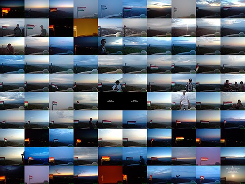 100 photos from the peak of János Hill in 2009.