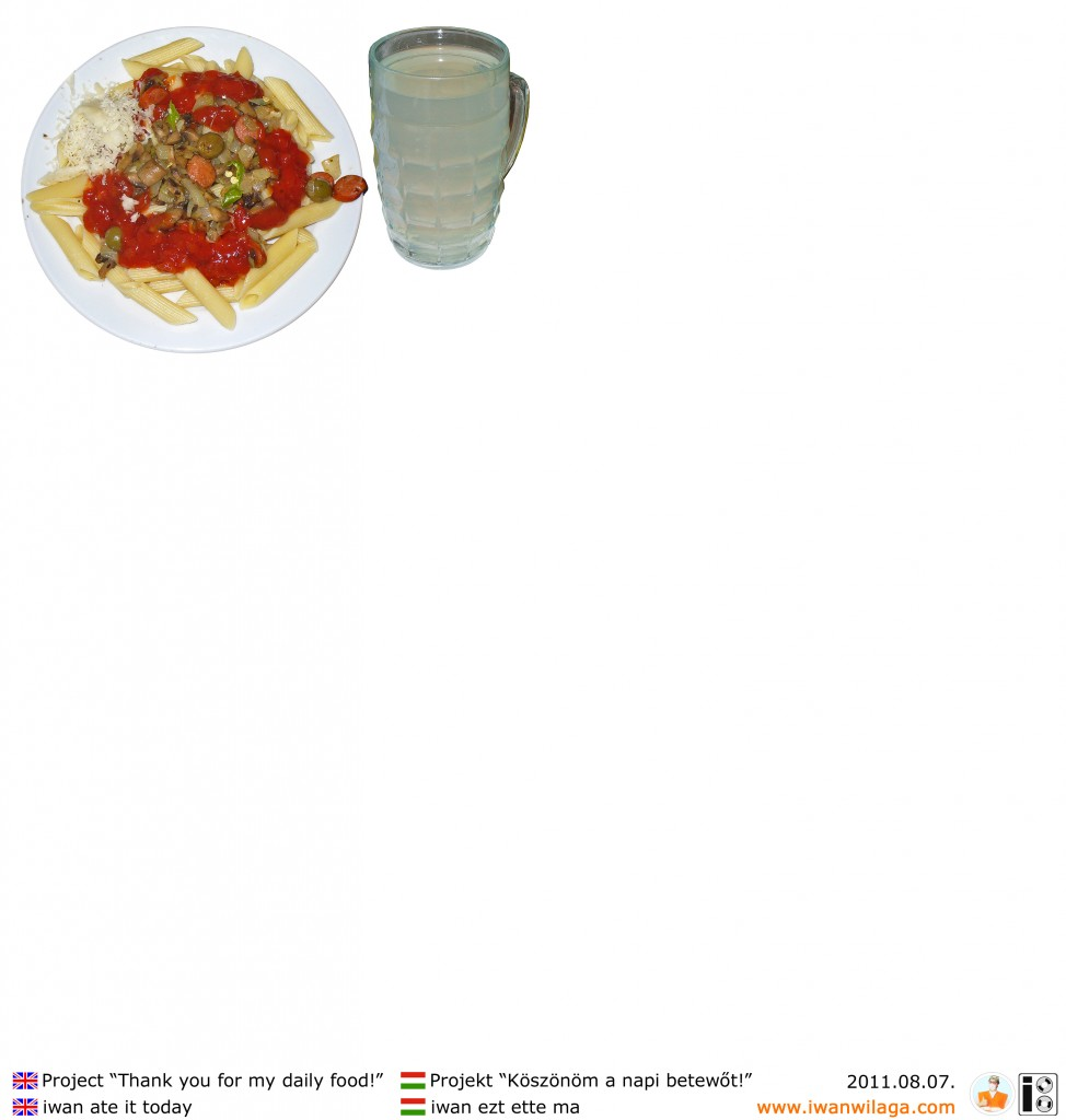 iwan's daily food 2011-08-07