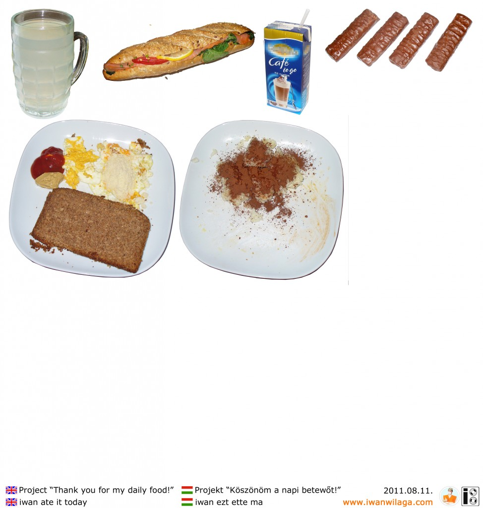 iwan's daily food 2011-08-11