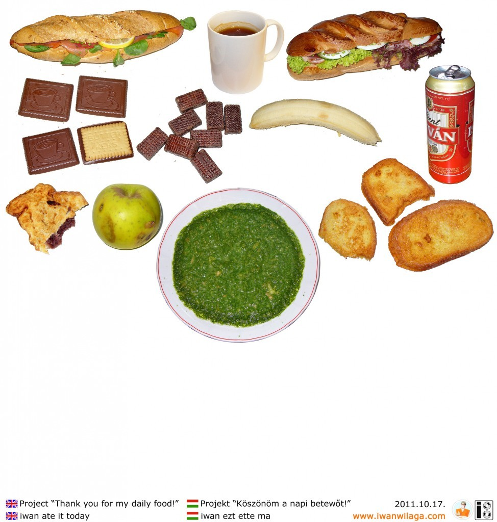 iwan's daily food 2011-10-17