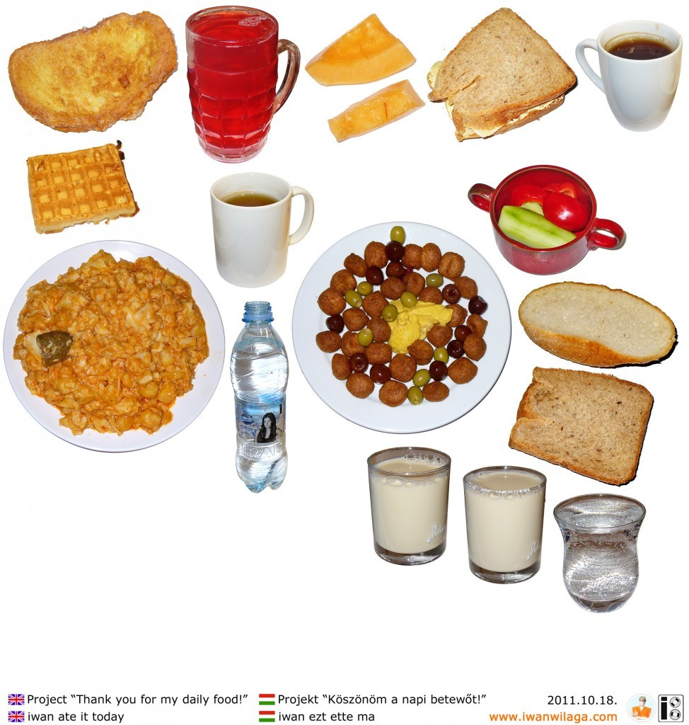 iwan's daily food 2011-10-18
