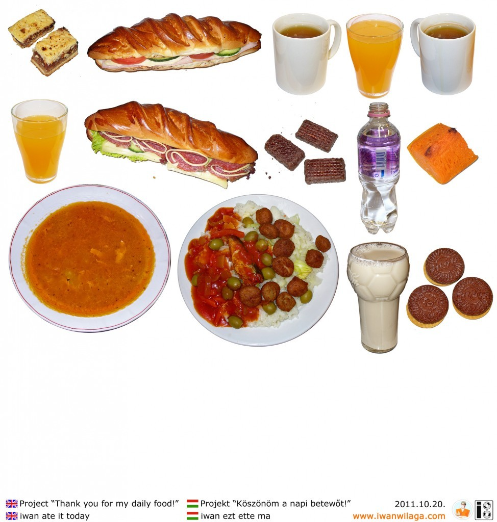 iwan's daily food 2011-10-20