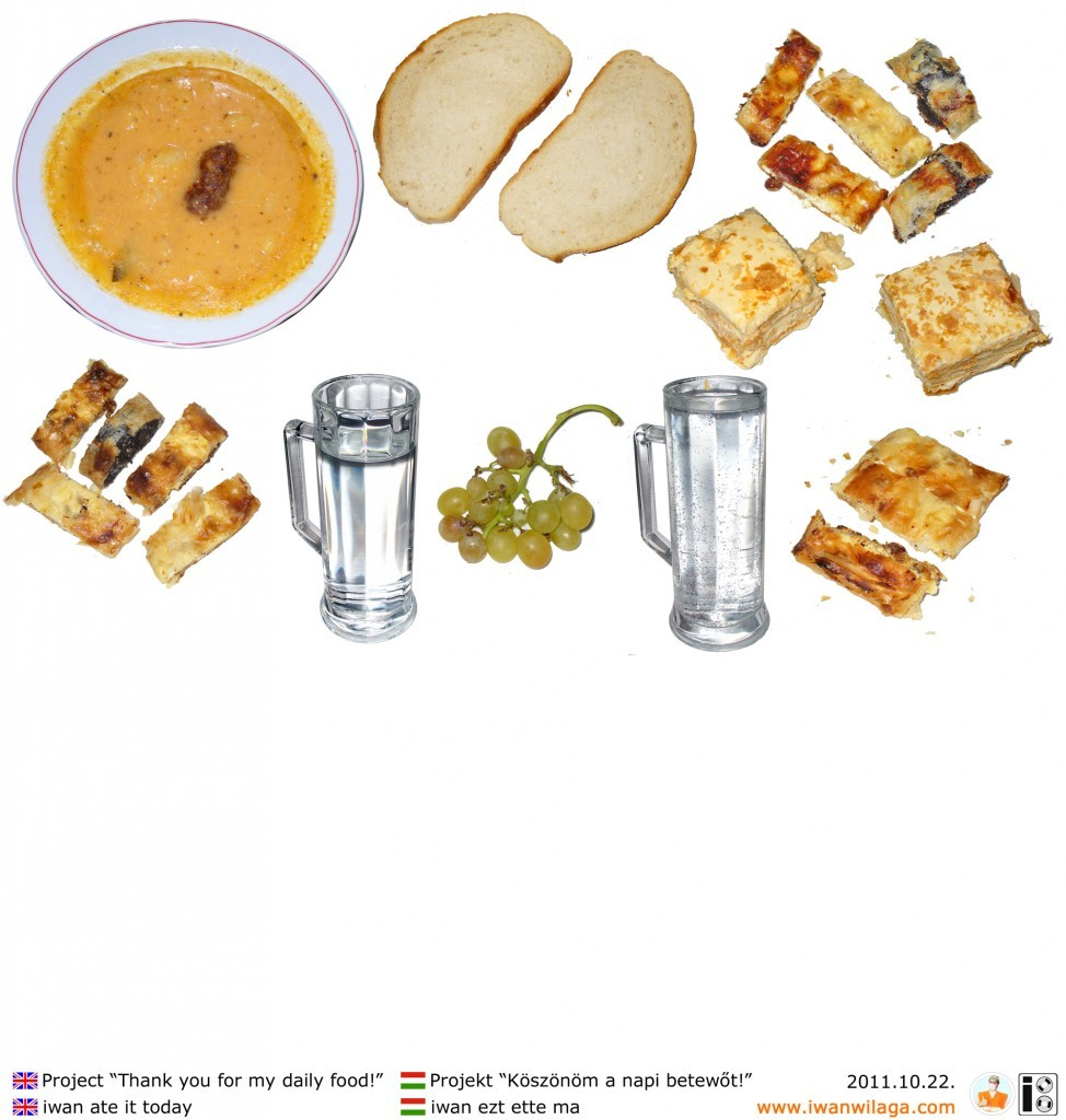 iwan's daily food 2011-10-22