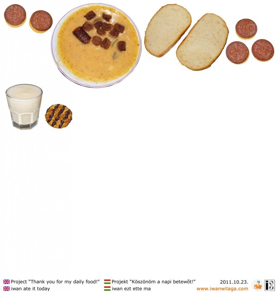 iwan's daily food 2011-10-23