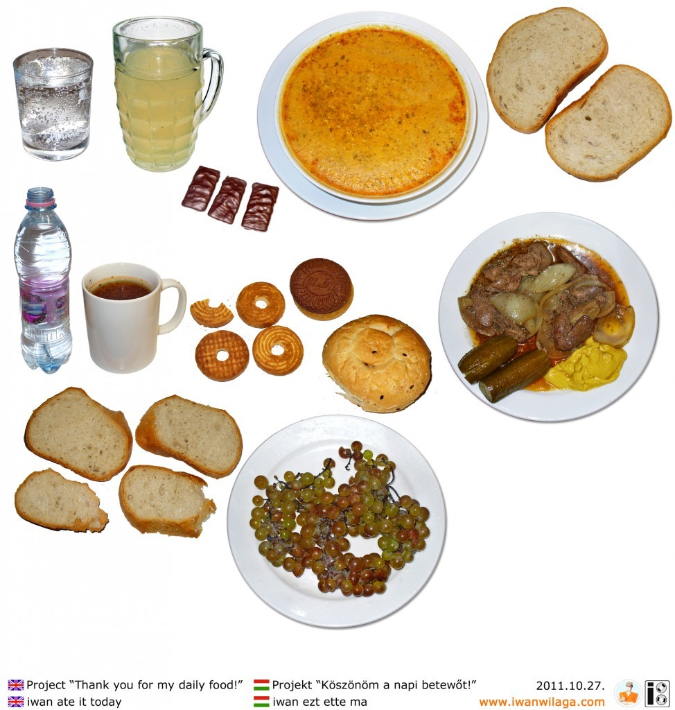 iwan's daily food 2011-10-27