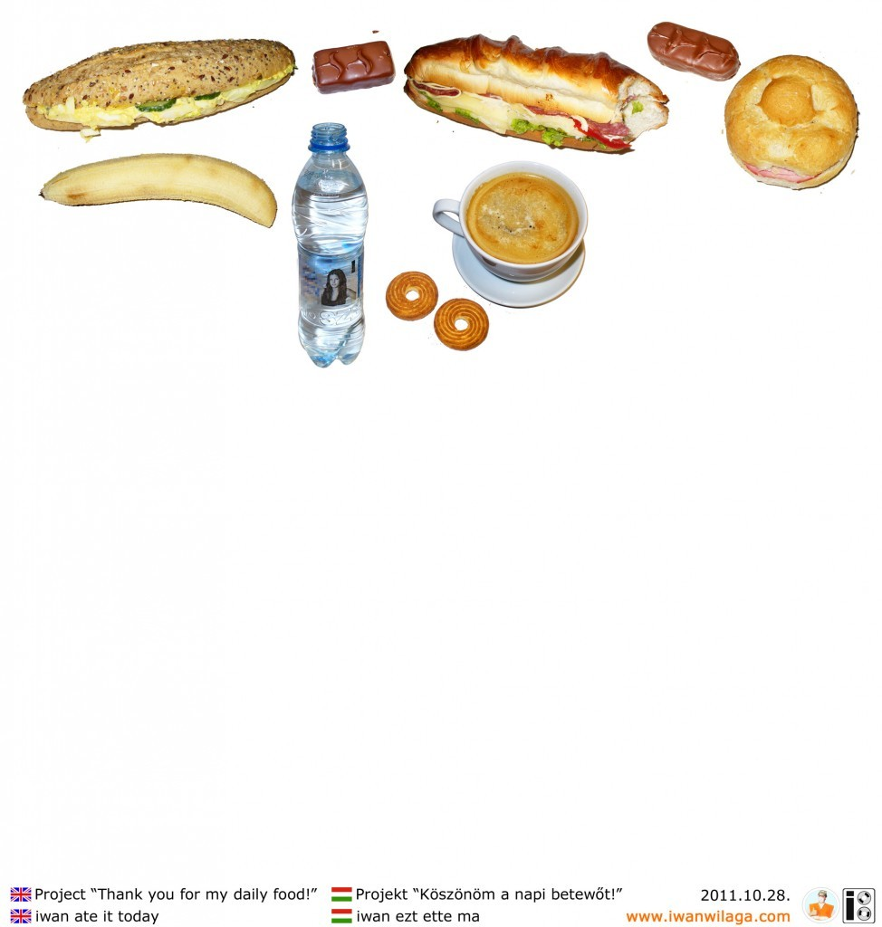 iwan's daily food 2011-10-28