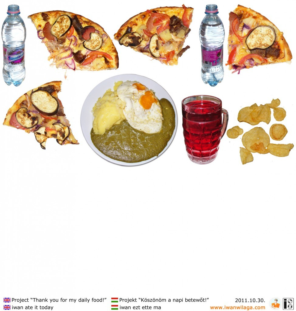 iwan's daily food 2011-10-30
