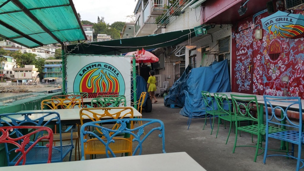 Lamma grill closed on the early morning