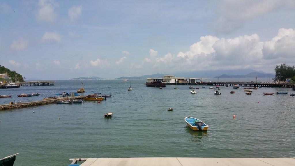 Yung Shue Wan (Banyan Tree Bay) the ferry pier.