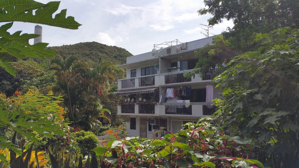 Lamma Island property, residental apartmants in the rich flora and fauna.