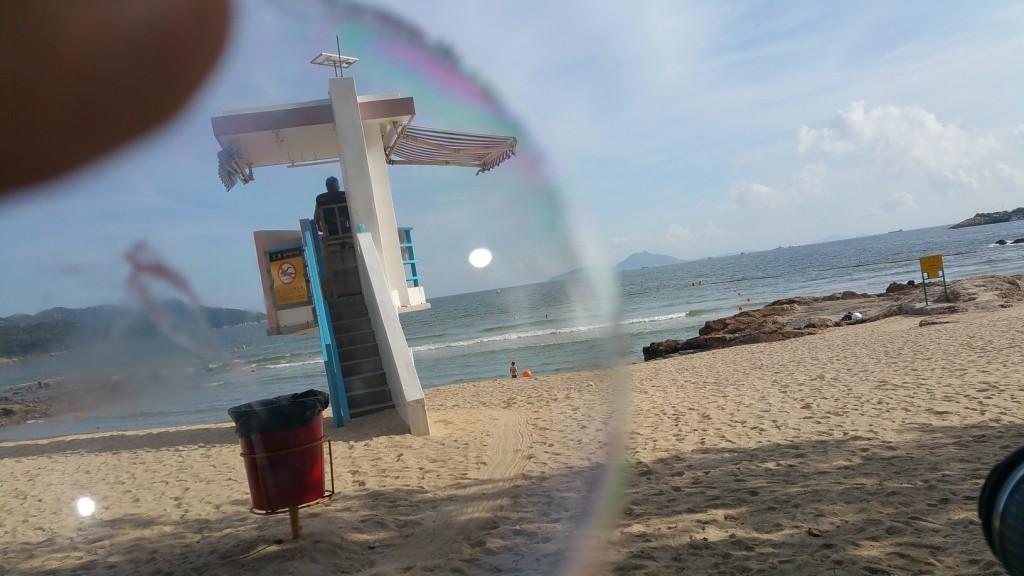 Sok Kwu Wan (Rainbow Bay) through the famous 'Glue-Bubble' muhhahah
